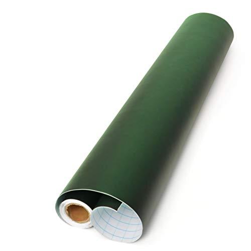 Foglio di lavagna OfficeTree ® verde - rotolo da 300 cm - autoadesivo - larghezza 43 cm - lavagna nera - scrivere disegnare dipingere con bambini - faidate decorazioni presentazioni - (1 rotolo)