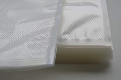 Bolsas AL VACÍO GOFRADAS 20x30cm (100 Unidades) para Cualquier ENVASADORA DOMESTICA (Tipo LILD)