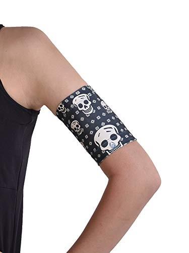 Dia-Band, Glucose Sensor Schutz Armband Freestyle Libre, Medtronic, Dexcom oder Omnipod – Komfortabel wiederverwendbares Diabetikband. (XL (31-35 cm))