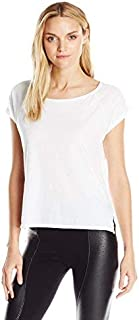 LAmade Women's Mera T-Shirt White Medium [並行輸入品]