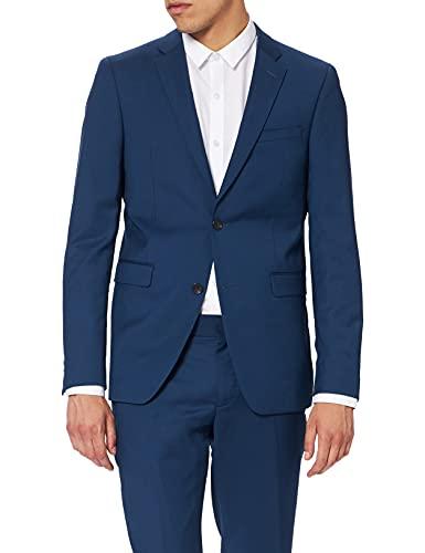 ESPRIT Collection Herren 079EO2M001 Anzug, 430/BLUE, (Herstellergröße: 54)