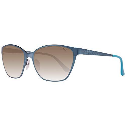 Elle Damen EL14822-55BL Sonnenbrille, Azul, 55/16/135