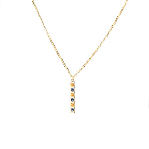 Honey Minx Women's Honey Bar Necklace Gold
