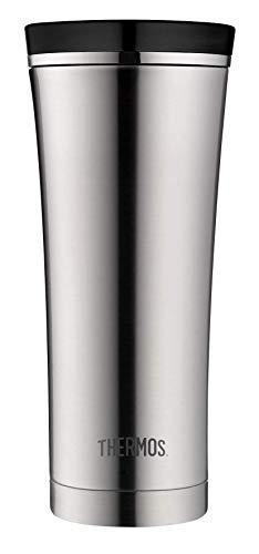 *THERMOS 4004.205.047 Coffee-to-Go Thermobecher Premium, Edelstahl mattiert 0,47 l, 5 Stunden heiß, 9 Stunden kalt, BPA-Free*