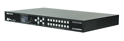 Great Deal! AVPro Edge AC-MX1616-AUHD 18GBPS 16×16 Matrix Digital Audio Deembedding – NO SCALERS (AC-SC1-AUHD at a