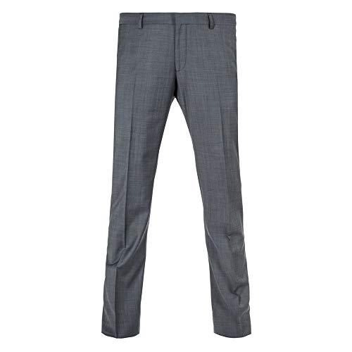 Benvenuto Purple - Slim Fit - Herren Baukasten Hose für Jungen Trend-Anzug mit sehr schlankem Schnitt in Anthrazit, Tozzi (20776, Modell: 61284)
