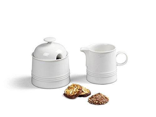 Friesland Ergänzungs-Set Kaffee 2tlg Jeverland Weiß