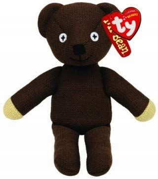 Ty Beanie Mr Bean's Teddy Bear, TV Favourite and Perfect Plush!