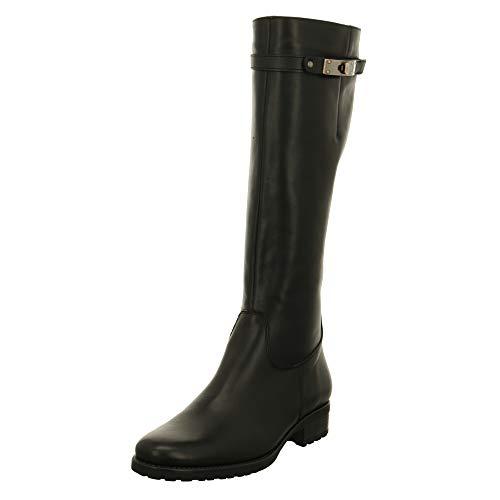 Lamica Damen Stiefel Schwarzer Stiefel mit schmalen Schaft CR52 S/0 schwarz 438192