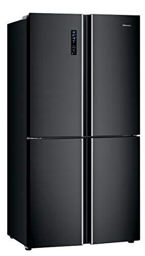 Hisense RQ689N4AF2 Side-by-Side (3-Türer) / A++ / 181 cm / 343 kWh/Jahr / 362 L Kühlteil / 180 Gefrierteil