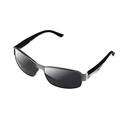 Ba30DEllylelly 8485 Gafas de Sol polarizadas para Deportes al Aire Libre Gafas de conducción Gafas Gafas de Sol de Gran tamaño Estilo Todo fósforo para Hombres