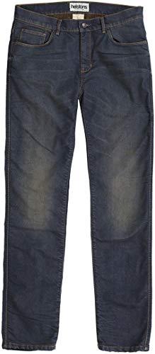 Helstons Motorrad Jeans Motorradhose Motorradjeans Corden Dirty Jeanshose blau 32, Herren, Chopper/Cruiser, Ganzjährig, Textil