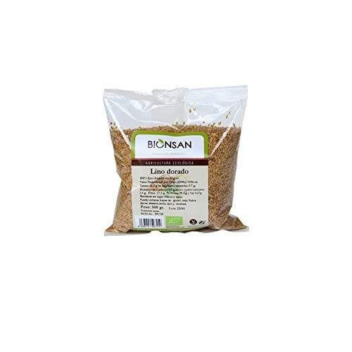 Bionsan Lino Dorado Ecologico 300 gr -  6 bolsas de 300 gr - Total: 1800 gr
