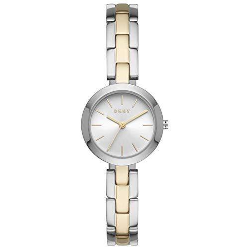 DKNY City Link - Reloj para Mujer con Movimiento de Cuarzo analógico con Correa Bicolor - NY2862