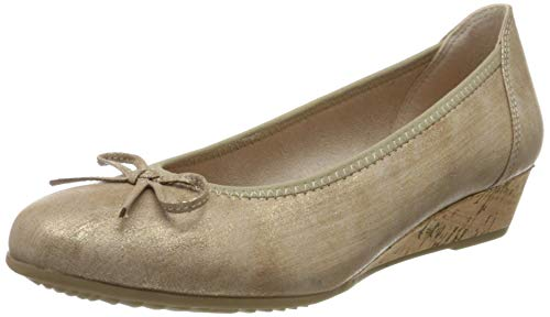Jana Softline Damen 8-8-22263-24 Pumps, Gold (Bronze Metall 953), 36 EU