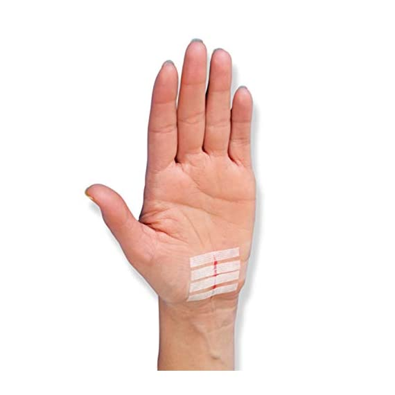 Nexcare steri-strip wound closure, secures and closes small cuts and wounds, alternative to butterfly bandages, 1/2 inch… 5 skin closure secures used in hospitals for improved cosmetic results breathable for added comfort