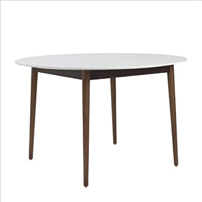 Amazon Com Acme 12120 Madera Dining Table With 8mm Print