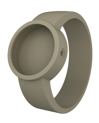 O clock Unisex-Wechselarmband für Armbanduhr beige Silikon 32 mm Covers_to
