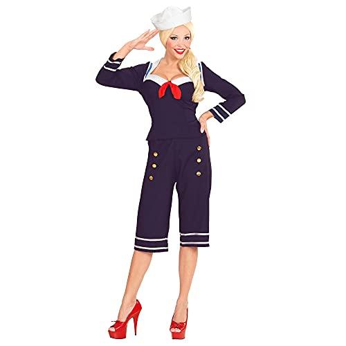WIDMANN - Disfraz para Mujer Marinero, Talla L (343)