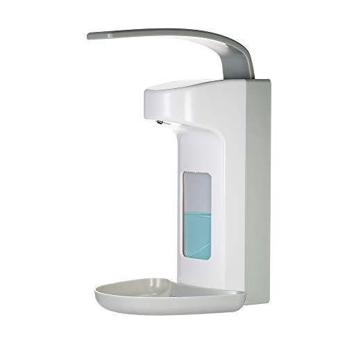 Decdeal - Dispensador de jabón de Manos y Gel desinfectante Manual, dispensador de Gel de Ducha, dispensador de jabón de Pared (500 ml)
