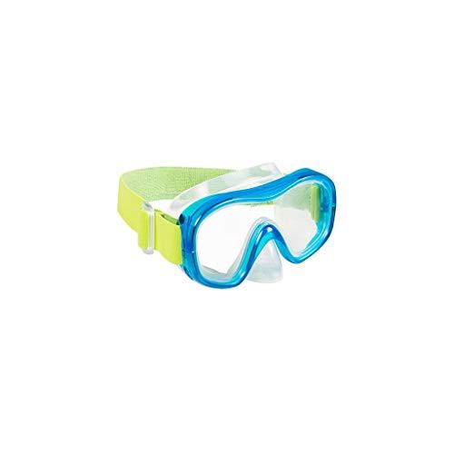 Gafas de buceo para adultos, equipo de buceo para niños, máscara de buceo (color: amarillo, talla: M)