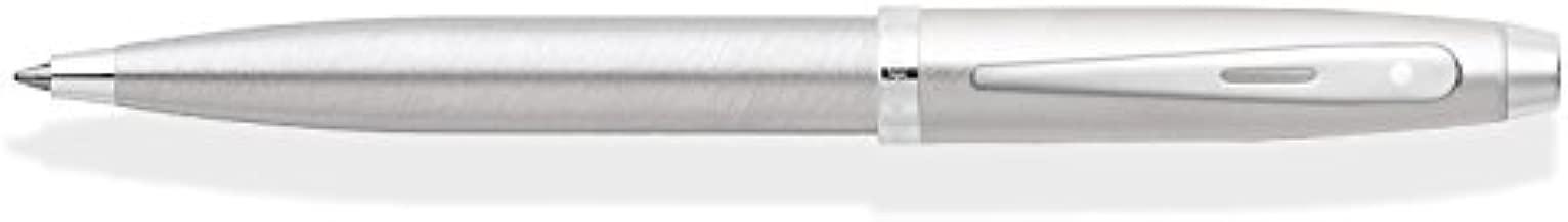 Sheaffer 100 Series Brushed Chrome/Nickel Trim Ballpoint Pen
