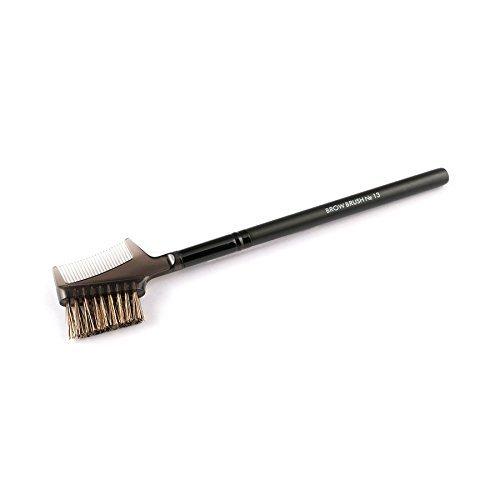 Impala Augenbrauenbürste N13 Natürliche und synthetische Borstenbürste und Kamm - Wimpern und Augenbrauen Make-up