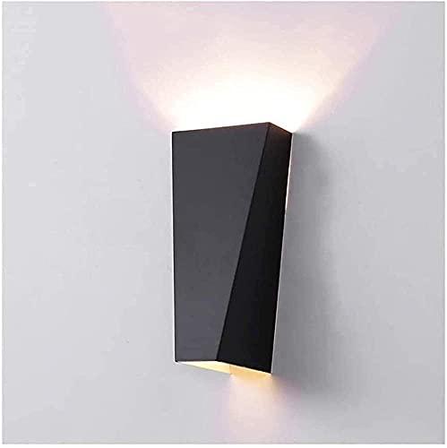 Apliques de pared LED modernos |Aplique de pared para lámparas de aluminio para arriba y abajo 10 W decoración de pared moderna luces de pared para interiores sala de estar dormitorio