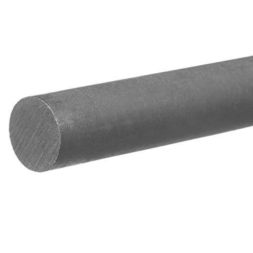 """PVC Plastic Rod - 1/2"""" Diameter x 6 ft. Long"""