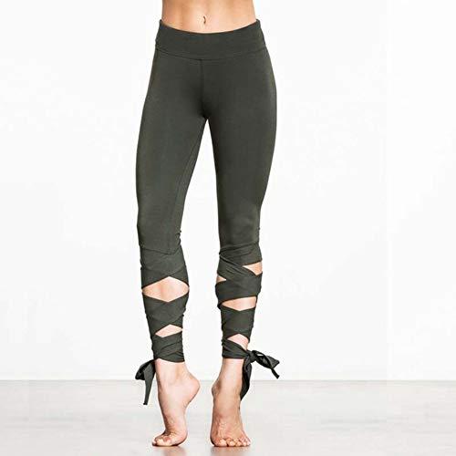 MJXVC Leggings Deporte Fitness Yoga Pantalones Ejercicio Correr Gimnasio Leggins Sólido Ballet Medias Atleta Jogging Ropa Deportiva