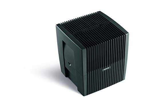 Venta Luftwäscher Original LW25, Luftbefeuchtung und Luftreinigung (bis 10 µm Partikel) für Räume bis 40 qm, Anthrazit-Metallic