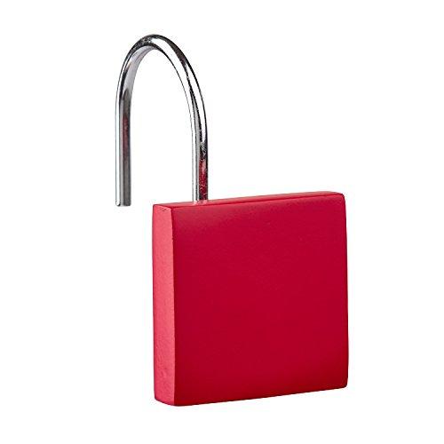 Zone Denmark Haken für Duschvorhang CONFETTI rot