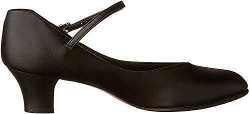 Capezio 550Junior Footlight Damenschuhe., Schwarz - Schwarz  - Größe: 40.5