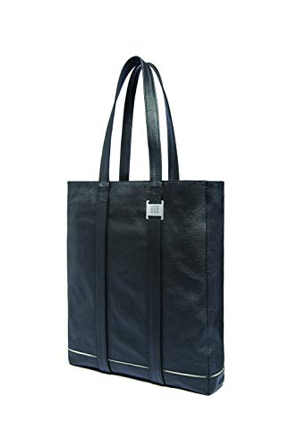 Moleskine Lineage Leather Tote Black