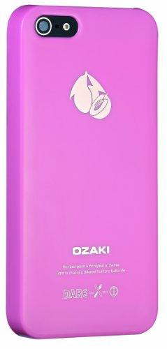 Ozaki O!Coat Fruit Cover per iPhone 5/5s, Pesca, Rosa