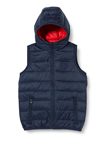 JACK & JONES Jungen JJEMAGIC Body Warmer Hood NOOS JR Daunenweste, Navy Blazer, 152