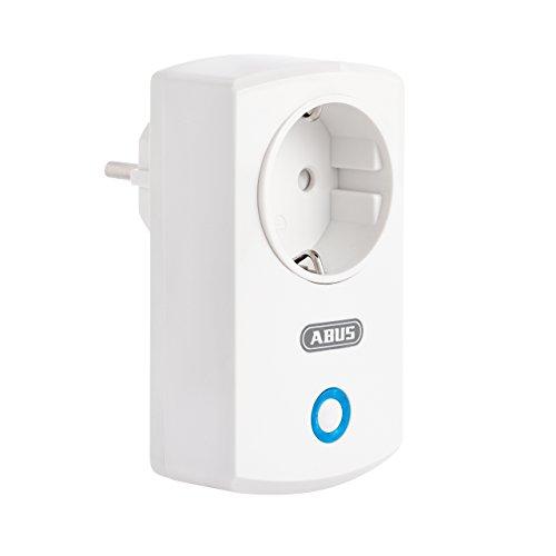 ABUS Smartvest Funk-Steckdose FUHA35000A - Zur individuellen Schaltung elektronischer Geräte - für intelligente Lichtsteuerung - Weiß - 38833