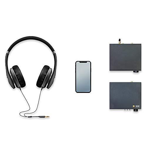 S.M.S.L M200 HiFi Audio DAC, AKM4497EQ Bluetooth Decoder, Hi-Res Bluetooth 5.0 32bit/768kHz DSD512, Coaxial Optical USB DAC Decoder, 6 Digital Filter Modes/3 Sound Color, Remote Control