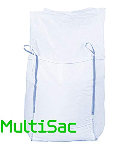 MULTISAC. Big Bag 50x50x50cms Laminado. FIBC 500 KG Camisa y Fondo Plano.