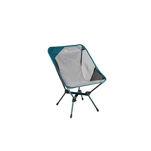 ZRJ Sillas ultraligeras, portátiles, ligeras, plegables, de malla transpirable, para camping, hogar, patio y sillas plegables deportivas