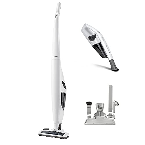 Vacmaster Joey Cordless Upright Vacuum Cleaner 24V Max with docking/charging station   Small Bagless...