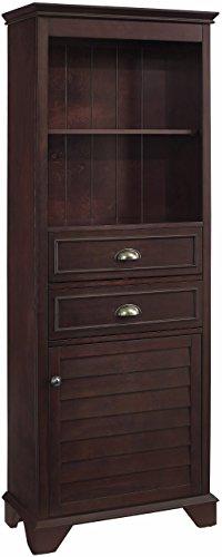 Crosley Furniture Lydia 60-inch Tall Bathroom Cabinet, Espresso