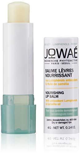 Jowae - Bálsamo labial nutritivo con lumifenoles antioxidantes y aceite de camelia para labios secos o agrietados, incluso sensibles, formato de 4 g (JOW0100025)