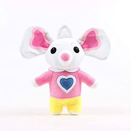 Peluches de peluche de patatas y chips de películas de dibujos animados escolares y regalo de muñeca de ratón para niños de 20-30 cm