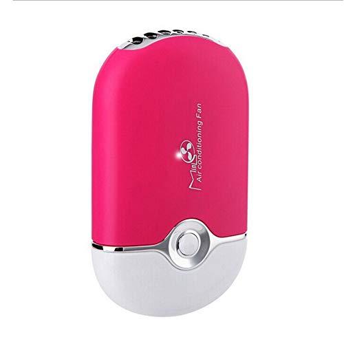 Sèche Cils Dévoué Mini ventilateur Ventilateur de climatisation Pour l'extension des cils Rechargeable par USB Portable Rouge