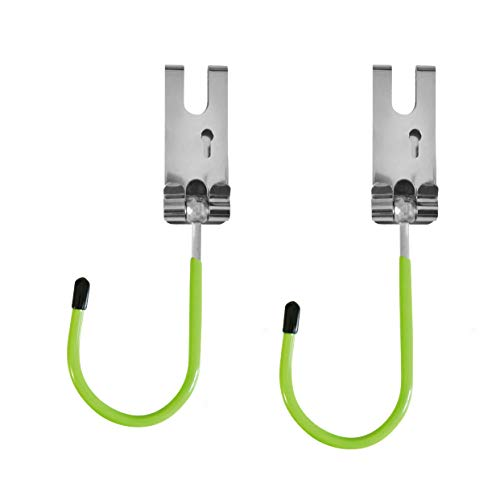 Grennland Tools Stainless Steel Power Tool Hanger Belt Hook 2-piece with Metal Clip Belt