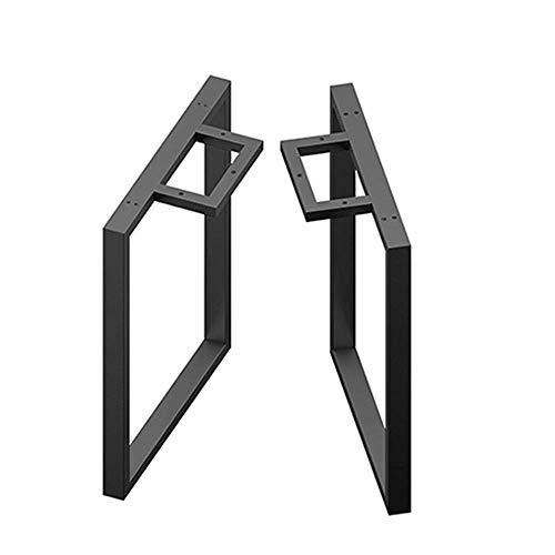 DX meubelcomponenten tafelpoten van smeedijzer, tafelpoten van metaal/tafelstandaard van metaal (zwart/goud/zilver), tafelpoten van koffietafel/stangpoten