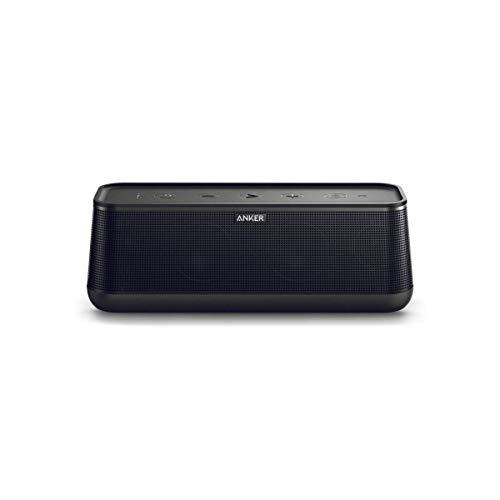 Anker SoundCore Pro+ 25 W Bluetooth Lautsprecher mit tiefem Bass, erstklassigem Klang, 18 Stunden Akkulaufzeit, Wasserdicht, mit HiFi&BassUp Technologie(Generalüberholt)