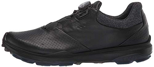 ECCO Men's Biom Hybrid 3 Boa Gore-Tex Golf Shoe, Black Yak Leather, 11-11.5