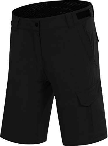Protective P-Deer Dance Pantalones cortos de ciclismo para mujer, color negro, talla EU 36 | S 2021